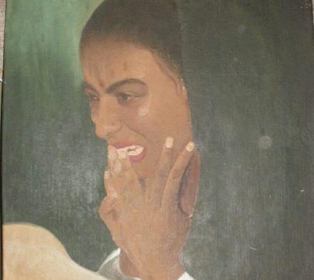 Oil painting - Artist Vijay Kumar Ludhiana